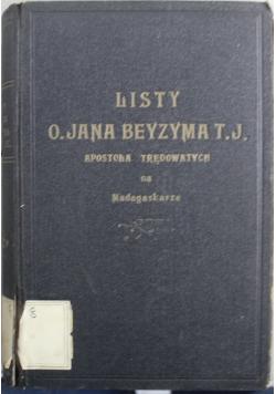 Listy O Jana Beyzyma T J Apostoła trędowatych na Madagaskarze 1927 r.