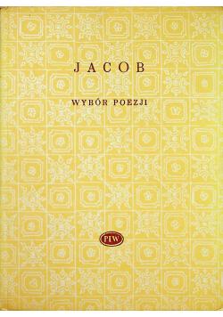 Jacob Wybór poezji