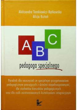 ABC pedagoga specjalnego