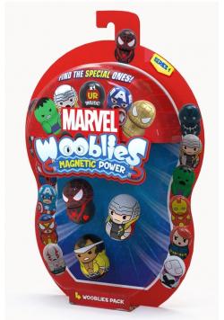 Wooblies Marvel figurki 4-pack