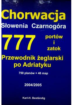 Chorwacja Słowenia Czarnogóra 777 portów i zatok