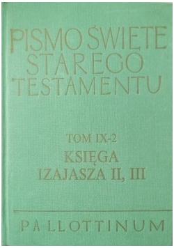 Pismo Święte Starego Testamentu Tom IX 2 Księga Izajasza 2 3