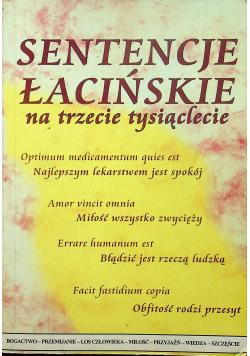 Sentencje łacińskie na trzecie tysiąclecie