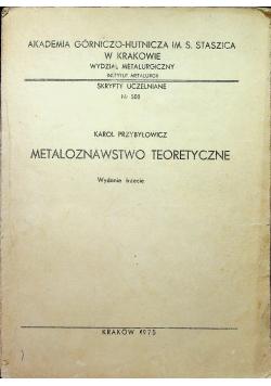 Metaloznawstwo teoretyczne